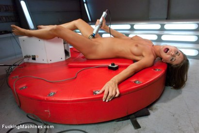 Photo number 14 from The Machines Posses a Hot, Scared Girl's Pussy shot for Fucking Machines on Kink.com. Featuring Presley Hart in hardcore BDSM & Fetish porn.