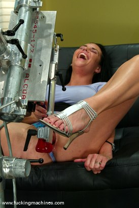 Photo number 4 from Angelica Sin shot for Fucking Machines on Kink.com. Featuring Angelica Sin in hardcore BDSM & Fetish porn.