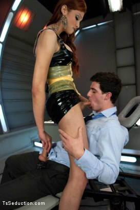 Photo number 4 from The Seducing Scientist shot for TS Seduction on Kink.com. Featuring Jenna Rachels and Tyler Alexander in hardcore BDSM & Fetish porn.