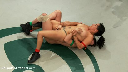Photo number 6 from Brutal battle to see who fucks the other. 1 will be humiliated & physically abused! One a WINNER! shot for Ultimate Surrender on Kink.com. Featuring Bryn Blayne and Izamar Gutierrez in hardcore BDSM & Fetish porn.