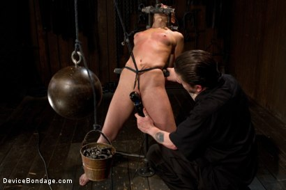 Photo number 5 from Part 1 of 4 of the Live February Shoot<br>Breaking Amber Rayne shot for Device Bondage on Kink.com. Featuring Amber Rayne in hardcore BDSM & Fetish porn.