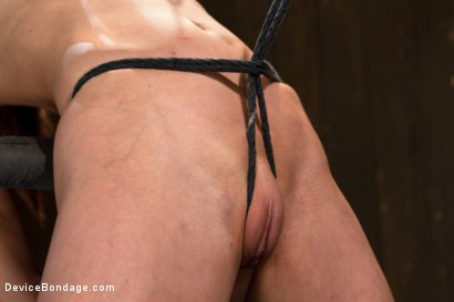 Photo number 7 from Part 1 of 4 of the Live February Shoot<br>Breaking Amber Rayne shot for Device Bondage on Kink.com. Featuring Amber Rayne in hardcore BDSM & Fetish porn.