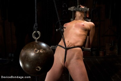Photo number 4 from Part 1 of 4 of the Live February Shoot<br>Breaking Amber Rayne shot for Device Bondage on Kink.com. Featuring Amber Rayne in hardcore BDSM & Fetish porn.