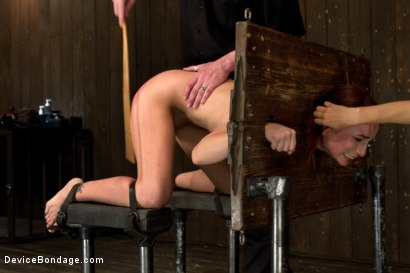 Photo number 5 from Breaking Amber Rayne <br>Anal fisting, double penetrated, and suffers through brutal torment shot for Device Bondage on Kink.com. Featuring Amber Rayne in hardcore BDSM & Fetish porn.