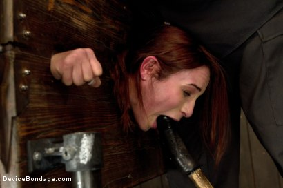Photo number 10 from Breaking Amber Rayne <br>Anal fisting, double penetrated, and suffers through brutal torment shot for Device Bondage on Kink.com. Featuring Amber Rayne in hardcore BDSM & Fetish porn.