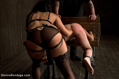 Photo number 11 from Breaking Amber Rayne <br>Anal fisting, double penetrated, and suffers through brutal torment shot for Device Bondage on Kink.com. Featuring Amber Rayne in hardcore BDSM & Fetish porn.