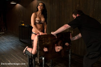 Photo number 14 from Breaking Amber Rayne <br>Anal fisting, double penetrated, and suffers through brutal torment shot for Device Bondage on Kink.com. Featuring Amber Rayne in hardcore BDSM & Fetish porn.