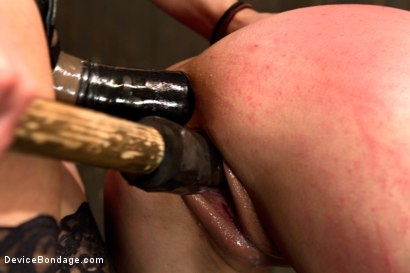 Photo number 9 from Breaking Amber Rayne <br>Anal fisting, double penetrated, and suffers through brutal torment shot for Device Bondage on Kink.com. Featuring Amber Rayne in hardcore BDSM & Fetish porn.