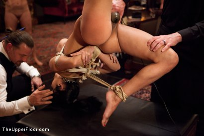 Photo number 12 from New Year Party Part 1  Fresh Meat for 2012 shot for The Upper Floor on Kink.com. Featuring Beretta James, Dylan Ryan, Audrey Rose and Odile in hardcore BDSM & Fetish porn.