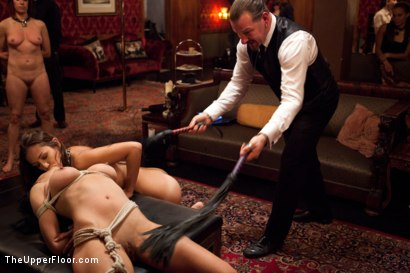 Photo number 14 from New Year Party Part 1  Fresh Meat for 2012 shot for The Upper Floor on Kink.com. Featuring Beretta James, Dylan Ryan, Audrey Rose and Odile in hardcore BDSM & Fetish porn.