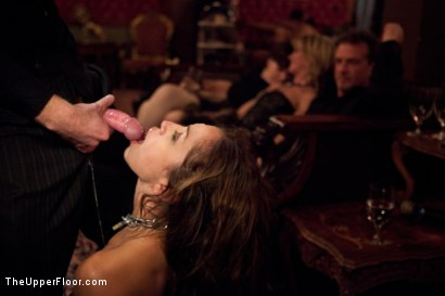 Photo number 13 from New Year Party Part 2 shot for The Upper Floor on Kink.com. Featuring Beretta James, Dylan Ryan, Audrey Rose and Odile in hardcore BDSM & Fetish porn.