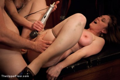 Photo number 18 from New Year Party Part 2 shot for The Upper Floor on Kink.com. Featuring Beretta James, Dylan Ryan, Audrey Rose and Odile in hardcore BDSM & Fetish porn.