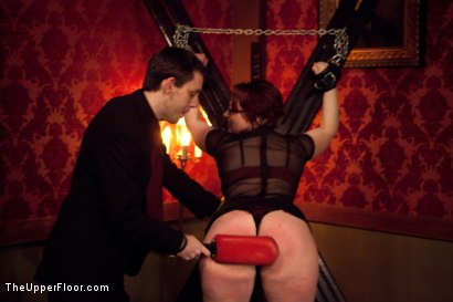 Photo number 20 from New Year Party Part 2 shot for The Upper Floor on Kink.com. Featuring Beretta James, Dylan Ryan, Audrey Rose and Odile in hardcore BDSM & Fetish porn.