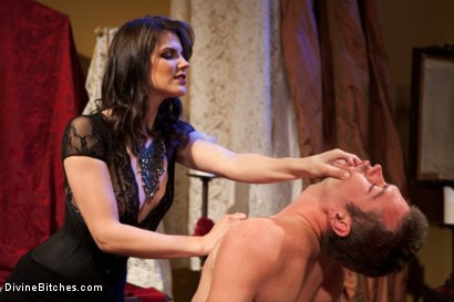 Photo number 1 from Bobbi Starr: Look But Don't Touch shot for Divine Bitches on Kink.com. Featuring John Jammen and Bobbi Starr in hardcore BDSM & Fetish porn.