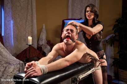 Photo number 10 from Bobbi Starr: Look But Don't Touch shot for Divine Bitches on Kink.com. Featuring John Jammen and Bobbi Starr in hardcore BDSM & Fetish porn.