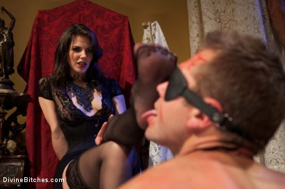 Photo number 8 from Bobbi Starr: Look But Don't Touch shot for Divine Bitches on Kink.com. Featuring John Jammen and Bobbi Starr in hardcore BDSM & Fetish porn.