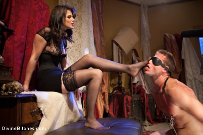 Photo number 7 from Bobbi Starr: Look But Don't Touch shot for Divine Bitches on Kink.com. Featuring John Jammen and Bobbi Starr in hardcore BDSM & Fetish porn.