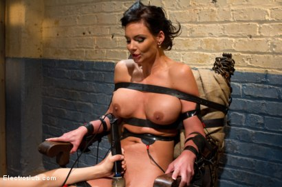 Photo number 11 from Phoenix Marie Suffers to an Electric Chair shot for Electro Sluts on Kink.com. Featuring Phoenix Marie and Bobbi Starr in hardcore BDSM & Fetish porn.