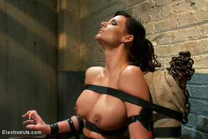 Photo number 15 from Phoenix Marie Suffers to an Electric Chair shot for Electro Sluts on Kink.com. Featuring Phoenix Marie and Bobbi Starr in hardcore BDSM & Fetish porn.