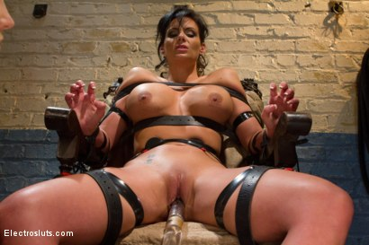 Photo number 10 from Phoenix Marie Suffers to an Electric Chair shot for Electro Sluts on Kink.com. Featuring Phoenix Marie and Bobbi Starr in hardcore BDSM & Fetish porn.