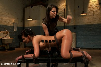 Photo number 10 from Electo Ass Stretching shot for Electro Sluts on Kink.com. Featuring Phoenix Marie and Bobbi Starr in hardcore BDSM & Fetish porn.