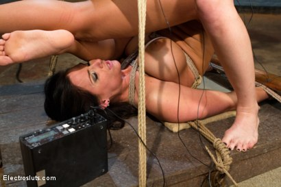 Photo number 4 from Big Tittied Sub Whore Phoenix Can't get Enough Electrosex Punishment! shot for Electro Sluts on Kink.com. Featuring Phoenix Marie and Bobbi Starr in hardcore BDSM & Fetish porn.