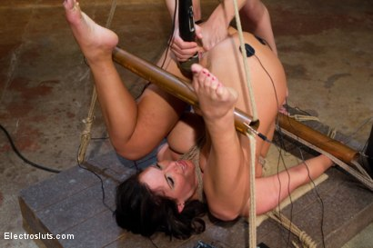 Photo number 5 from Big Tittied Sub Whore Phoenix Can't get Enough Electrosex Punishment! shot for Electro Sluts on Kink.com. Featuring Phoenix Marie and Bobbi Starr in hardcore BDSM & Fetish porn.