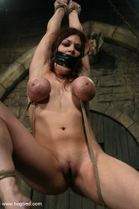 Photo number 7 from Mallory Knots shot for Hogtied on Kink.com. Featuring Mallory Knots in hardcore BDSM & Fetish porn.