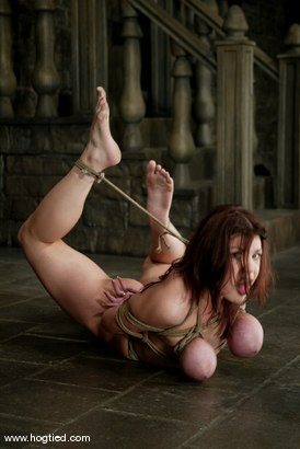 Photo number 9 from Mallory Knots shot for Hogtied on Kink.com. Featuring Mallory Knots in hardcore BDSM & Fetish porn.