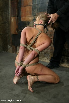 Photo number 13 from Jackie Moore shot for Hogtied on Kink.com. Featuring Jackie Moore in hardcore BDSM & Fetish porn.