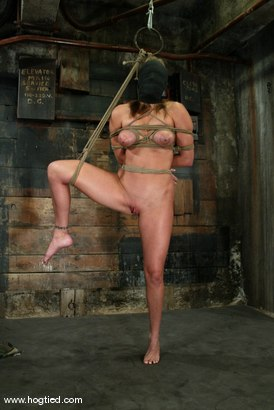 Photo number 6 from Jackie Moore shot for Hogtied on Kink.com. Featuring Jackie Moore in hardcore BDSM & Fetish porn.