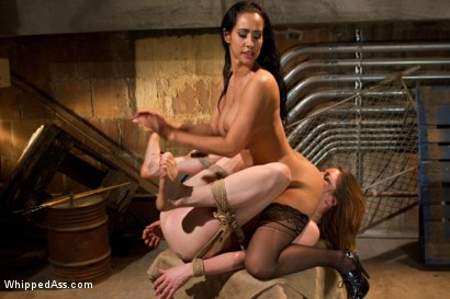 Photo number 12 from CiCi Rhodes:  Pain, Pleasure and Multiple Orgasms shot for Whipped Ass on Kink.com. Featuring Isis Love and CiCi Rhodes in hardcore BDSM & Fetish porn.