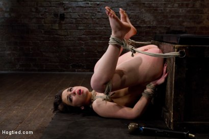 Photo number 14 from Juliette Marche Fucked Hard In Pile Driver shot for Hogtied on Kink.com. Featuring Juliette March and Isis Love in hardcore BDSM & Fetish porn.