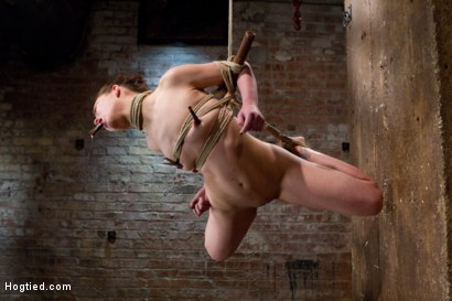 Photo number 16 from Sweet Juliette Hogtied and Violated by Isis Love shot for Hogtied on Kink.com. Featuring Juliette March and Isis Love in hardcore BDSM & Fetish porn.