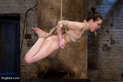 Photo number 13 from Sweet Juliette Hogtied and Violated by Isis Love shot for Hogtied on Kink.com. Featuring Juliette March and Isis Love in hardcore BDSM & Fetish porn.