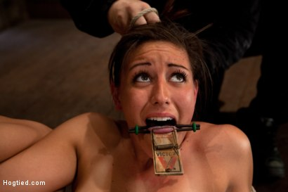 Photo number 10 from 18yr former All State athlete in Volleyball, Track & B/ball. 1st time cumming in hardcore bondage! shot for Hogtied on Kink.com. Featuring Rilynn Rae in hardcore BDSM & Fetish porn.