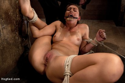 Photo number 11 from 18yr former All State athlete in Volleyball, Track & B/ball. 1st time cumming in hardcore bondage! shot for Hogtied on Kink.com. Featuring Rilynn Rae in hardcore BDSM & Fetish porn.
