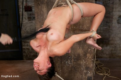 Photo number 9 from Welcome 18 year old Rilynn! shot for Hogtied on Kink.com. Featuring Rilynn Rae in hardcore BDSM & Fetish porn.