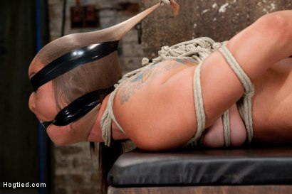 Photo number 6 from Rilynn Dominated and Cock Trained shot for Hogtied on Kink.com. Featuring Rilynn Rae in hardcore BDSM & Fetish porn.