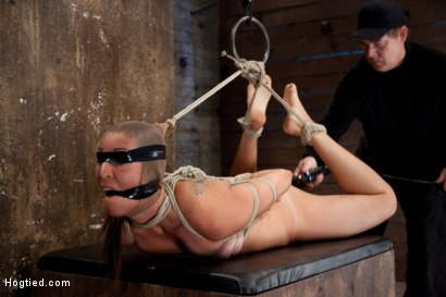 Photo number 8 from Rilynn Dominated and Cock Trained shot for Hogtied on Kink.com. Featuring Rilynn Rae in hardcore BDSM & Fetish porn.