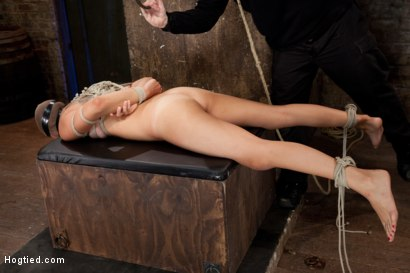 Photo number 9 from Rilynn Dominated and Cock Trained shot for Hogtied on Kink.com. Featuring Rilynn Rae in hardcore BDSM & Fetish porn.