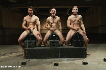 Photo number 11 from Slave Auction - Live Shoot shot for Bound Gods on Kink.com. Featuring Dylan Deap, Spencer Reed, Van Darkholme, Sebastian Keys and Tyler Alexander in hardcore BDSM & Fetish porn.