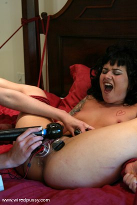 Photo number 4 from Audrey Leigh and Karma shot for Wired Pussy on Kink.com. Featuring Karma and Audrey Leigh in hardcore BDSM & Fetish porn.
