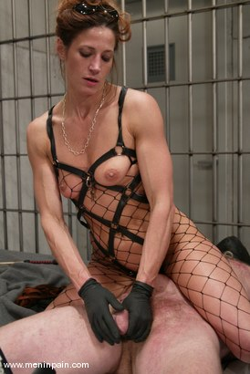 Photo number 7 from Kym Wilde and Slave shot for Men In Pain on Kink.com. Featuring Kym Wilde and Slave in hardcore BDSM & Fetish porn.
