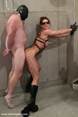 Photo number 1 from Kym Wilde and Slave shot for Men In Pain on Kink.com. Featuring Kym Wilde and Slave in hardcore BDSM & Fetish porn.