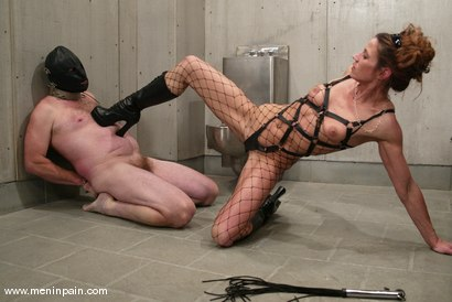 Photo number 5 from Kym Wilde and Slave shot for Men In Pain on Kink.com. Featuring Kym Wilde and Slave in hardcore BDSM & Fetish porn.