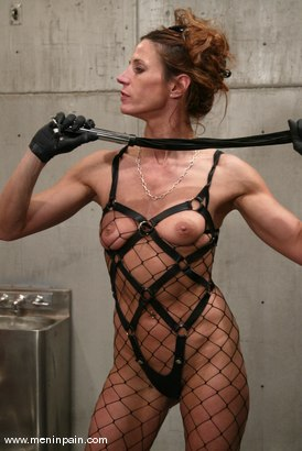 Photo number 3 from Kym Wilde and Slave shot for Men In Pain on Kink.com. Featuring Kym Wilde and Slave in hardcore BDSM & Fetish porn.