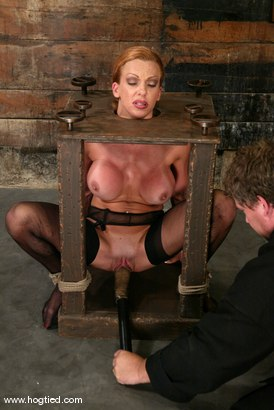 Photo number 10 from Shannon Kelly shot for Hogtied on Kink.com. Featuring Shannon Kelly in hardcore BDSM & Fetish porn.