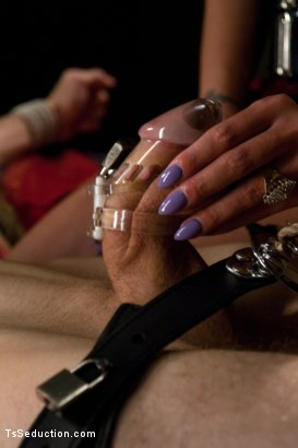 Photo number 2 from In The Thick of It: Mia Isabella Owns Your Dreams shot for TS Seduction on Kink.com. Featuring Mia Isabella and Blake in hardcore BDSM & Fetish porn.