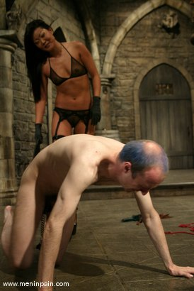 Photo number 5 from John and Lucy Lee shot for Men In Pain on Kink.com. Featuring Lucy Lee and John in hardcore BDSM & Fetish porn.